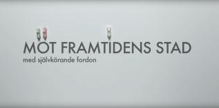Göteborgs Stad – Framtidens stad – självkörande bilar skaparplats