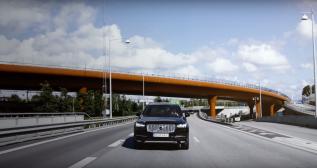 Volvo Autonomous Cars Media Interface: IntelliSafe AutoPilot