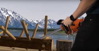 Husqvarna Lumberjack VR med DigitasLbi